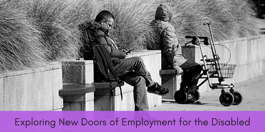 Various big name companies are creating new ways for disabled persons to find employment through adpative programs and work opportunities.