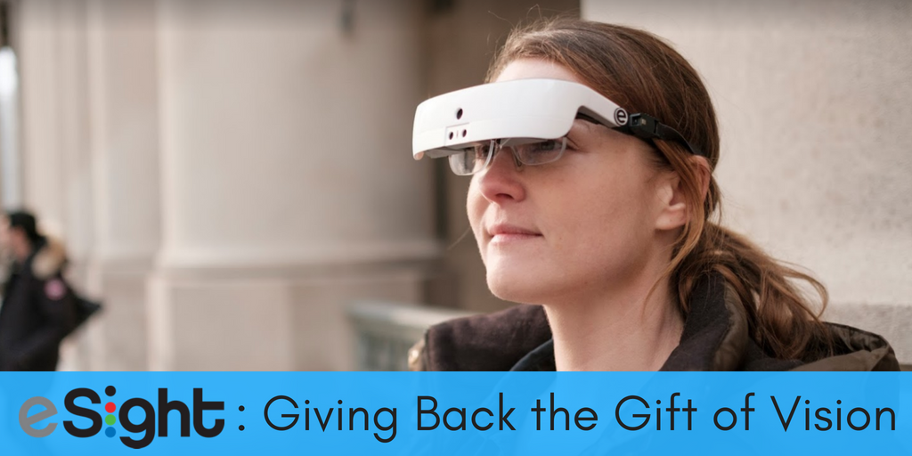 eSight eyewear is a special form of wearable technology that enables legally blind or low vision individuals to see. Designed by eSight, it is drastically changing lives. This article includes an interview with user and eSight employee Gary Foster as he provides his testimony and gives insight into how the eyewear works.
