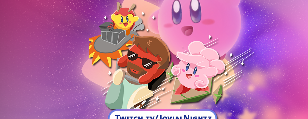 JovialNightz + Friends Charity Stream Jully 11th, 2021 8:00pm EST Kirby Air Ride